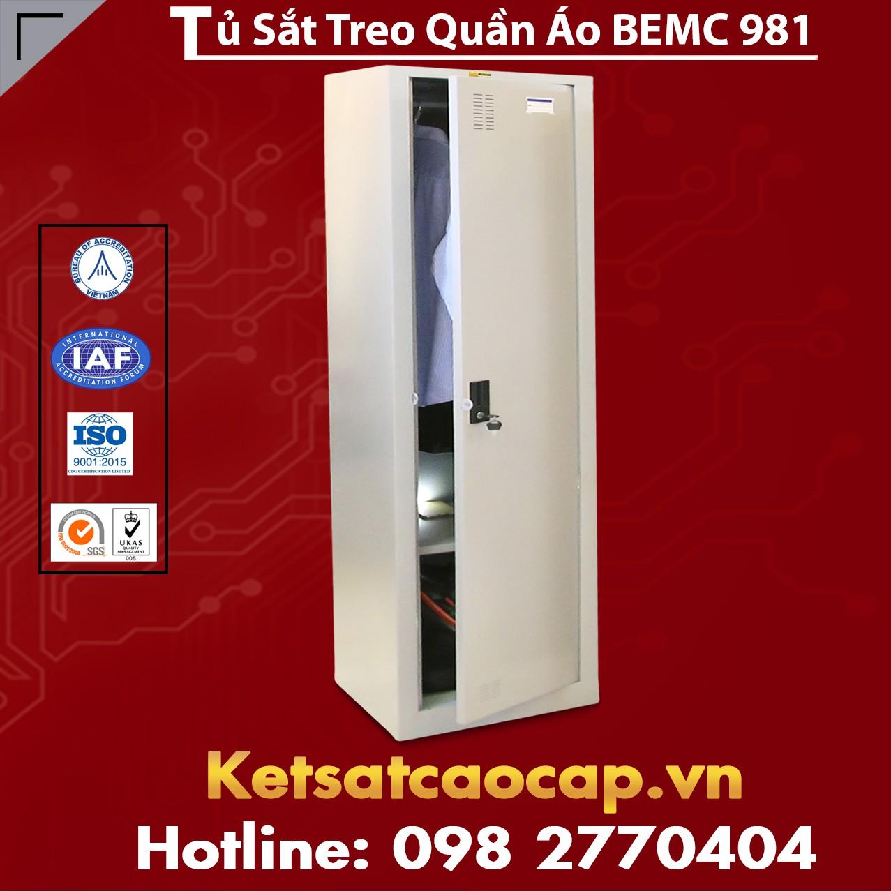 Tủ Sắt Treo Quần Áo BEMC 981