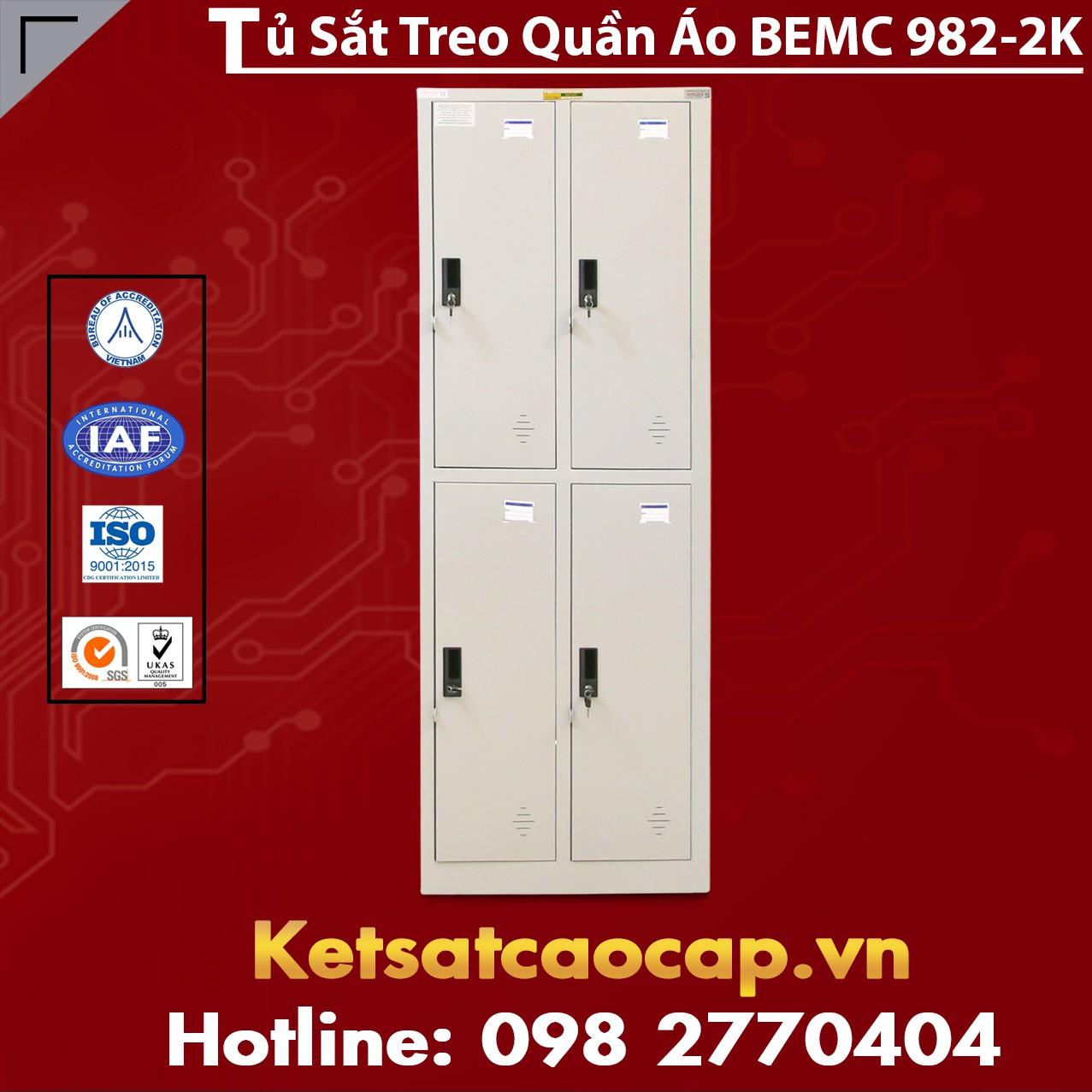 Tủ Quần Áo BEMC 982-2K